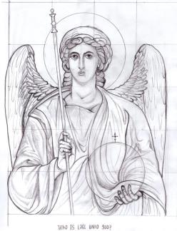 St Michael [Study]