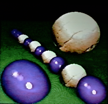 A Line is Sometimes not Crossed, 1990. Digital image, Amiga 1000. 640x480px