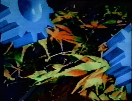 Cogs in Nature, 1990. Digital image, Amiga 1000. 640x480px
