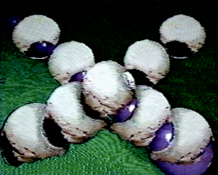 Crossing Direction, 1990. Digital image, Amiga 1000. 640x480px