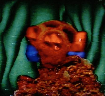 Implantation On the Mound, 1990. Digital image, Amiga 1000. 640x480px